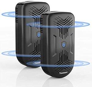超音波ネズミ駆除器 周波数自動変更型